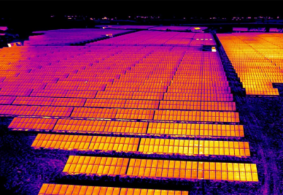 DJM-Aerial-Solutions-thermal-imaging-inspection-survey-solar-panel-farm-renewable-energy-industry drone thermography north east thermal inspection uk