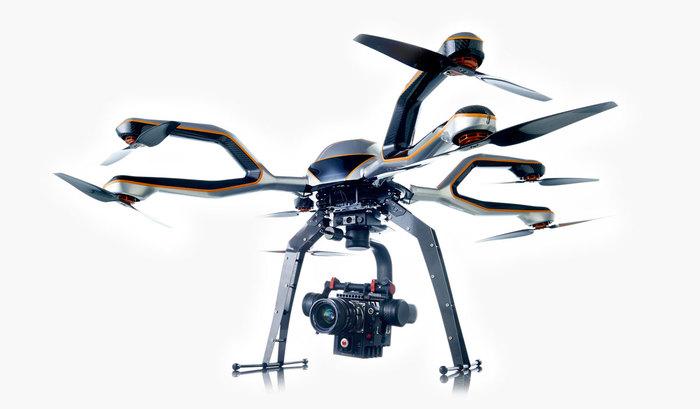 Acecore NEO octocopter carbon fibre UAV heavy lift