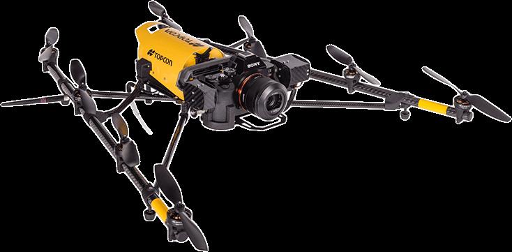 Falcon 8 drone UAV aerial inspection octocopter