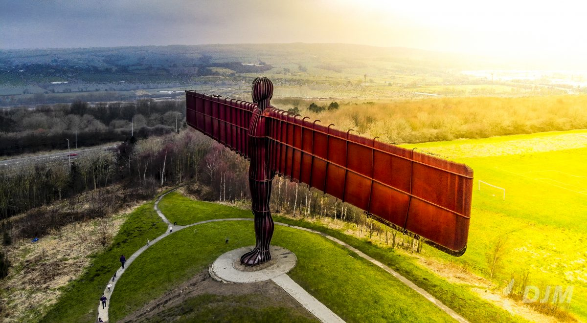 Angel of the north UAV Asset Inspection Artificial Intelligence
