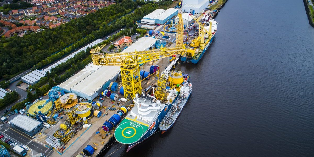 Shepherd Offshore Employ Teesside Drone Company DJM Aerial